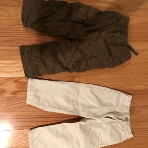 Boys Size 3t old navy and gap pants